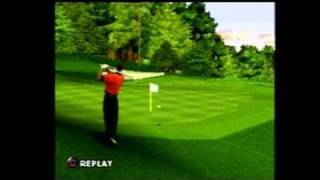 Tiger Woods PGA Tour 2000 PlayStation Gameplay