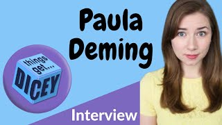 Things Get Dicey with Paula Deming. Meepleville Meets the star of the Youtube series.
