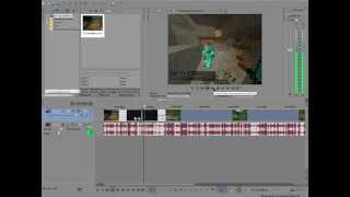 Как Ускорять & Замедлять Видео В Sony Vegas Pro 13