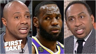 First Take debates: Is LeBron the best player in the world? (Part 2)