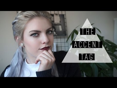 THE ACCENT TAG | dutch • english