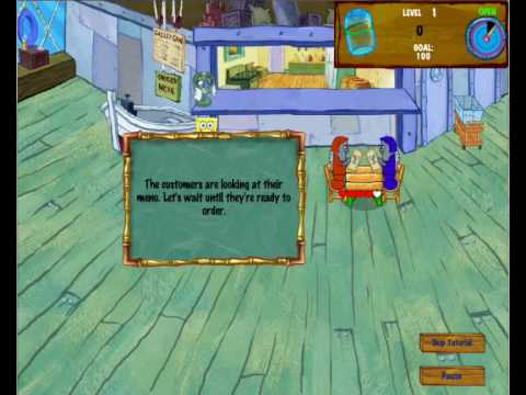 SpongeBob Diner Dash 2 FREE Download