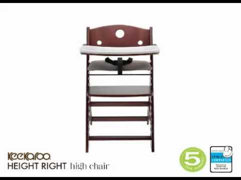 Keekaroo Height Right High Chair   480 x 360
