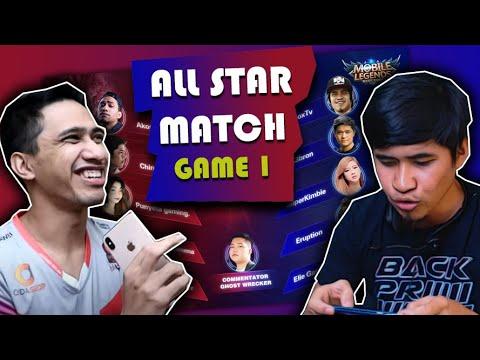 ML All Star Match (Game 1) Team-Dogie Vs Team-Choox!