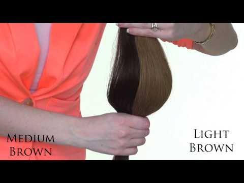 Irresistible Me Hair Extensions - Choosing the right color
