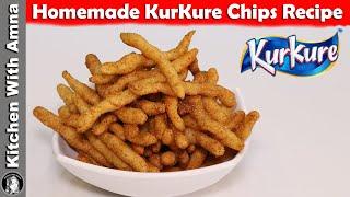 KurKure Chips Recipe   How to make KURKURE at home   Kitchen With Amna