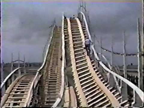 Belmont Park Giant Dipper Restoration Part 1 Youtube