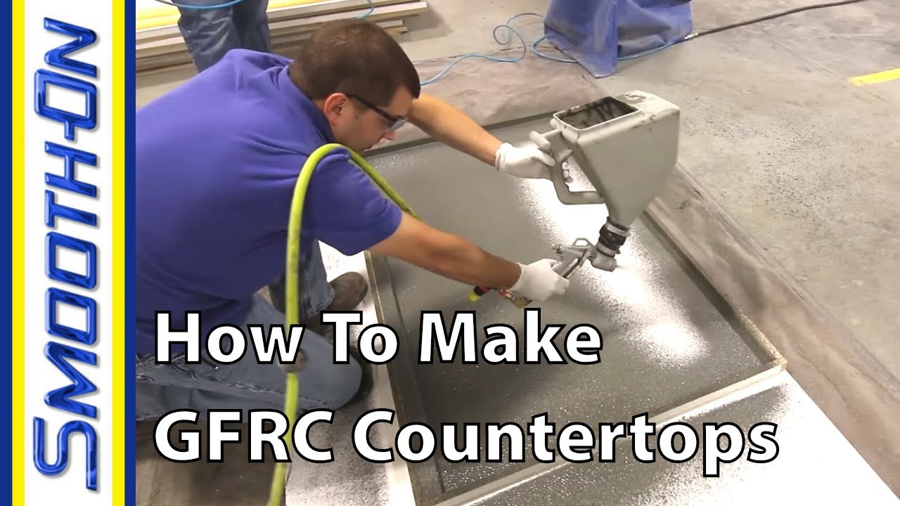 Concrete Countertops Book How To Make Custom Concrete Countertops Using Gfrc