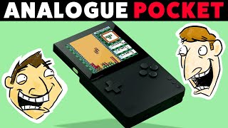HD Game Boy You Can Play Anywhere - Analogue Pocket Revealed - Hot Take