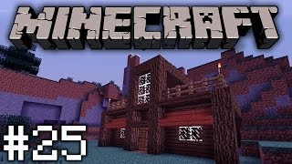 Minecraft - 25 - Talo valmiiksi!!