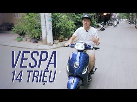 Đánh giá xe máy điện JVC Vespas 2020 - Đẹp, cảm giác lái tốt