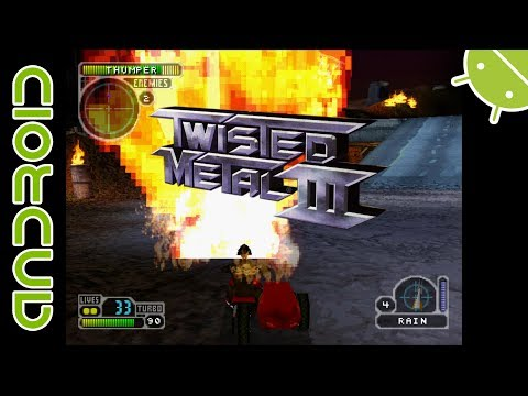 Twisted Metal III | NVIDIA SHIELD Android TV | EPSXe Emulator [1080p] | Sony PS1 Exclusive