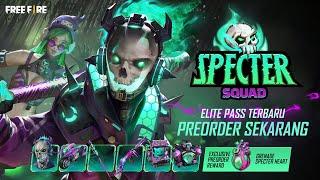 Pre - Order sekarang, Elite Pass Specter Squad dan Dapatkan Reward Ekslusifnya!