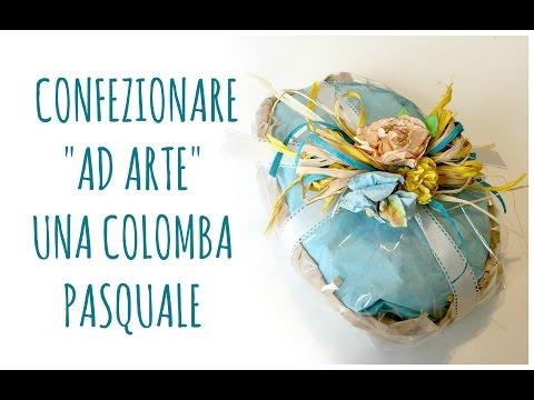 """Come Confezionare """"ad arte"""" una Colomba Pasquale (Pasqua/Decorazione) Arte per Te"""