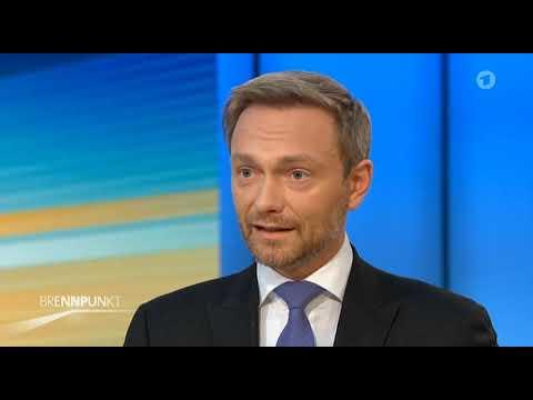 Jamaika Aus: FDP - Christian Lindner - interview - 20.Nov.´17