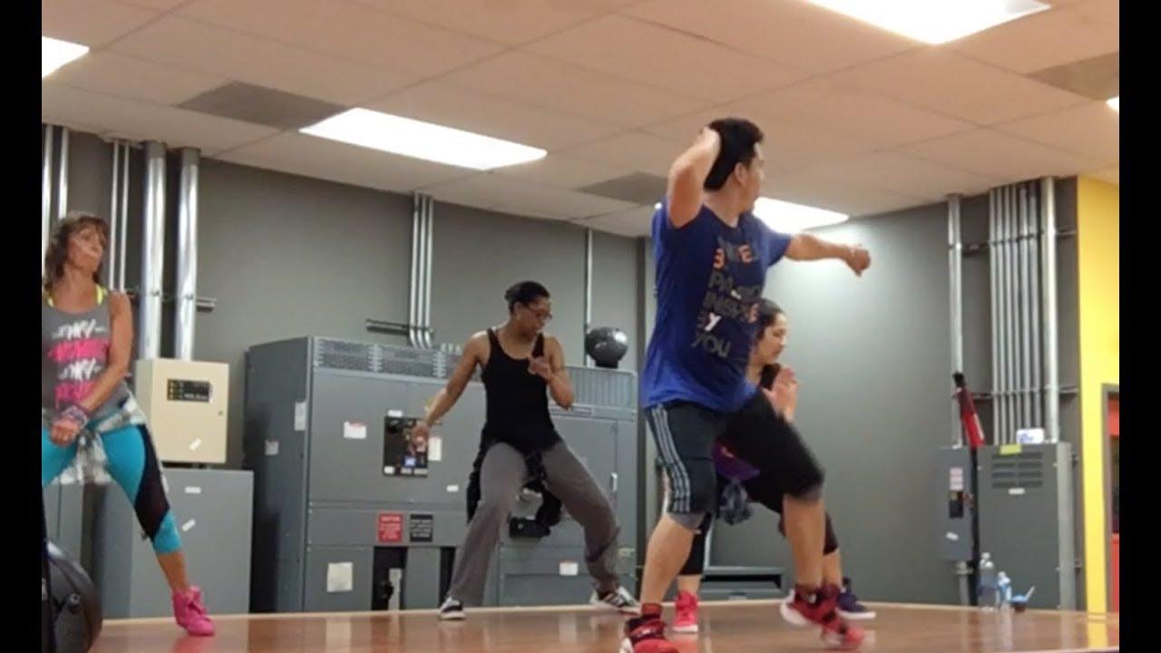 Efren Buzzo ZUMBA choreo (3 full songs w/cuing/progressions)