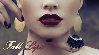 روج عنابي للشتاء Fall Lipstick