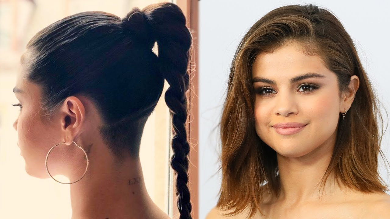 Selena Gomez Debuts Shocking Shaved Hair For Puma Campaign Youtube