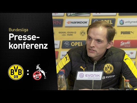 PK Thomas Tuchel: Müssen über Grenzen gehen | BVB - 1. FC Köln