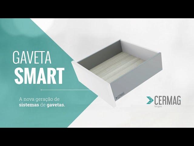 Gaveta Smart - Cermag Ferragens