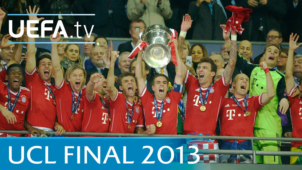 Bayern v Dortmund: 2013 UEFA Champions League final highlights ...