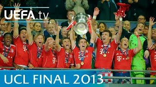 Bayern v Dortmund: 2013 UEFA Champions League final highlights