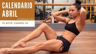 CALENDARIO MES ABRIL | Fitness by Vivi