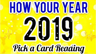 HOW YOUR 2019 WILL BE - MONEY, LOVE , SEX- PICK A CARD READING- TIMELESS- MWT