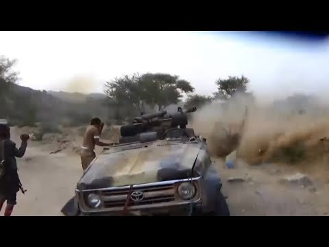 YEMEN: Houthis are firing at positions of the Saudis from ZiS-3