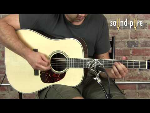 Santa Cruz Tony Rice Custom Guitar Demo at Sound Pure