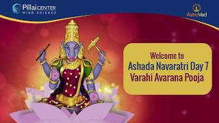 Ashada Navaratri 2019 Day - 7: Varahi Avarana Pooja