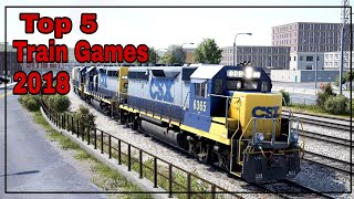 Top 5 Best Graphics Train Simulator Games for PC 2018