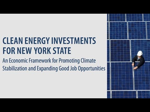 Report: Investing in Clean Energy Would Boost NY's Economy
