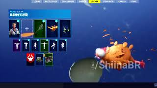 [PATCH 6.30] FIRST LOOK @ CRAZY CHICKEN GLIDER! [IN-GAME] FORTNITE BATTLE ROYALE