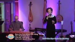 VNTV Concert- Đêm Nhạc Chọn Lọc Thanh Âm Mùa Đông: Ngâm thơ: Đưa Em Tìm Động Hoa Vàng