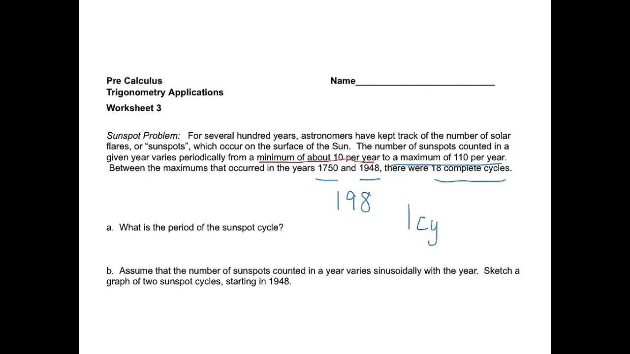 Workbooks Trigonometry Year 9 Worksheets Free Printable