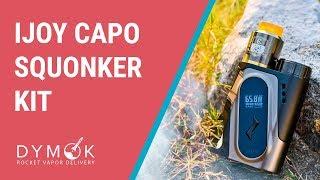 iJoy Capo Squonker обзор, намотка | Компактно, вкусно