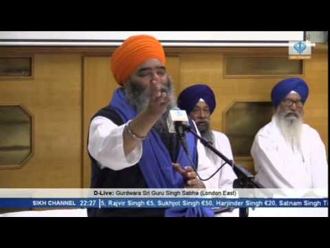 20140914 2158   829   Sikh Channel   D Live  Giani Paramjit