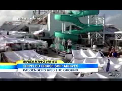 Carnival Triumph Cruise Ship 39Blessed39 Passengers Return Home With S