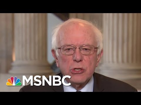Senator Bernie Sanders: There Is Widespread Support For Compromise | Morning Joe | MSNBC