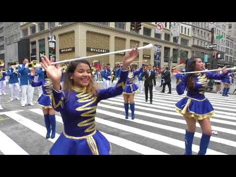Hispanic Day Parade~2017~NYC~El Salvador Torito Pinto MB~NYCParadelife
