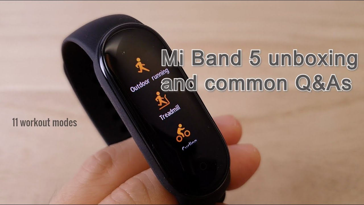 Does The Mi Band 5 Support Aod