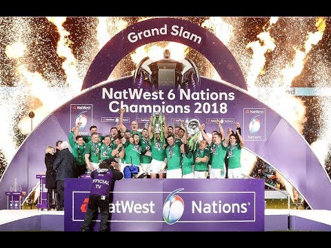 Grand Slam Champions: Ireland lift the 2018 trophy! | NatWest 6 Nations