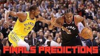 NBA Finals PREDICTIONS - Can the Raptors UPSET the Warriors?
