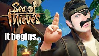 SEA OF THIEVES w/ TobyGames - The Birth of OLD MAN PIRATE!