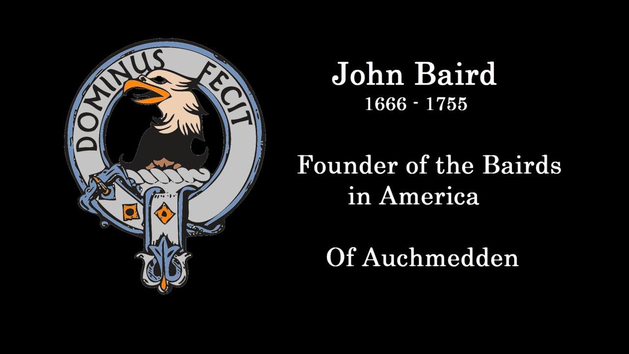 John Baird 1666-1755 [Traditional]