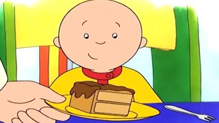 Caillou Türkçe - Caillou ve Çikolatalı Sürpriz Kek | kayu cizgi filmi | çizgi filmleri çocuklar için