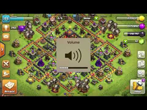 Clash Of Clans Single Player Map- No Flight Zone