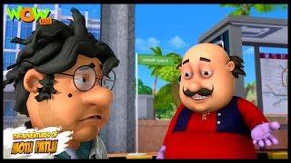 Motu Patlu New Episode  Cartoons  Kids TV Shows  John The Power Snatcher  Wow Kidz