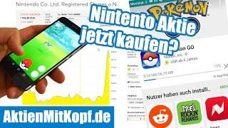 Nintendo Aktie wegen Pokémon Go kaufen?